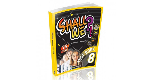 8.Sınıf Shall We Test Book